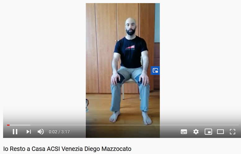 Io Resto a Casa ACSI Venezia Diego Mazzocato